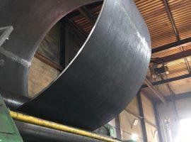 Изготовление цилиндрических обечаек